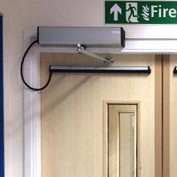 powered timber fire doors