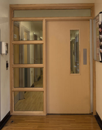 FD60 Fire Door NHS Hospital